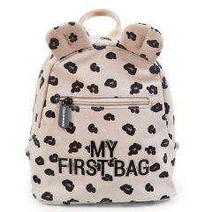 Premier Sac à Dos Fille, Ecole Maternelle, My First Bag de Childhome leopard