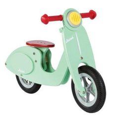 Scooter Draisienne Vespa pour enfant, menthe