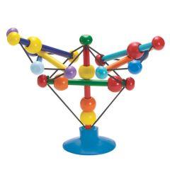 Skwish Stix Hochet Bébé en bois avec ventouse Manhattan Toys