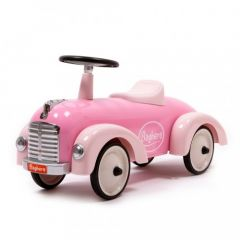 Porteur Speedster Fille Rose dès 12 mois Voiture Métal Baghera, Livraison Gratuite et Rapide, Boutique Suisse