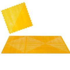 Tapis moelleux modulable Toddlekind, éléments puzzle en mousse EVA non toxique, jaune, Livraison Gratuite
