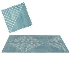 Tapis moelleux modulable Toddlekind, éléments puzzle en mousse EVA non toxique, bleu, Livraison Gratuite