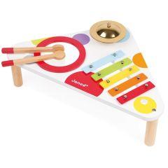 Table Instruments Musique en bois pour Enfant Confetti Janod