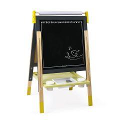 Tableau Double Face Réglable pour enfant Tableau noir pour dessiner, Livraison Gratuite, Janod