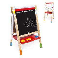 Splash Tableau Réglable pour enfant Tableau noir pour dessiner, Livraison Gratuite, Janod