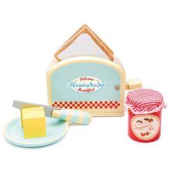 Toaster Jouet Bois, Grille Pain et Accessoires Idée Cadeau dès 3 ans Le Toy Van