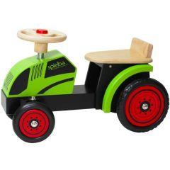 Porteur Tracteur Bois Ecologique, Cadeau Enfant 18 mois, Spielba Livraison Gratuite