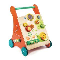 Trotteur Activités pour apprendre à marcher, Chariot bébé 12 mois Tender Leaf Toys