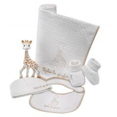 Mon trousseau de naissance coton 100% biologique, Sophie la girafe