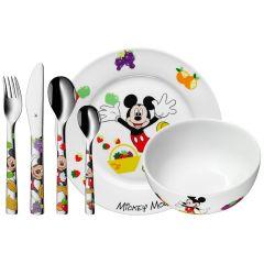 Couverts Assiette et Bol pour enfant, services à graver, idée cadeau fille ou garçon, Mickey WMF