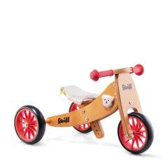 Steiff Tricycle & Vélo sans pédale Tiny Tot Classic dès 12 mois, avec ou sans panier, Livraison Gratuite