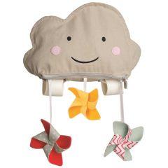 Pare Soleil Voile Ombrage pour poussette Nuage Taf Toys