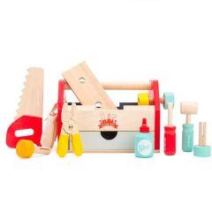 Boîte à outils  Le Toy Van, Jouet en Bois pour petit bricoleur dès 3 ans