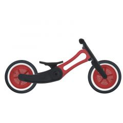 Vélo évolutif Recycling Wishbone dès 12 mois, Rouge, Livraison Gratuite, Boutique Suisse