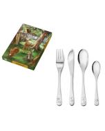 Services Animaux de la Forêt Set pour enfant à graver Zilverstad, Boutique Suisse