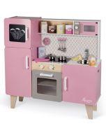 Maxi Cuisine Rose Macaron pour fille de 3 à 8 ans Top Cuisine Janod