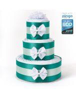 Gâteau 60 Couches Baby Shower, Couches écologiques Pingo, Naissance Bébé Livraison Gratuite, vert
