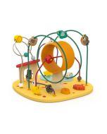 Jeu Looping avec Puzzle Poulette & Cie, Eveil de Bébé 1 à 3 ans, Janod
