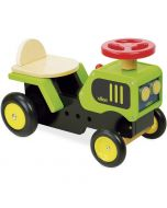 Porteur Tracteur avec klaxon et levier de vitesse avec bruitage dès 18 mois, Vilac Livraison Gratuite