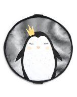 Sac de rangement de jouets et tapis de jeu SOFT Pingouin Play & Go