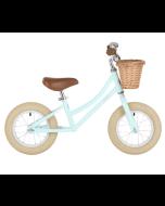 Draisienne Bobbin Garçon ou Fille dès 2 ans, Vélo menthe 12 pouces sans Pédale style retro Gingersnap, Livraison Gratuite